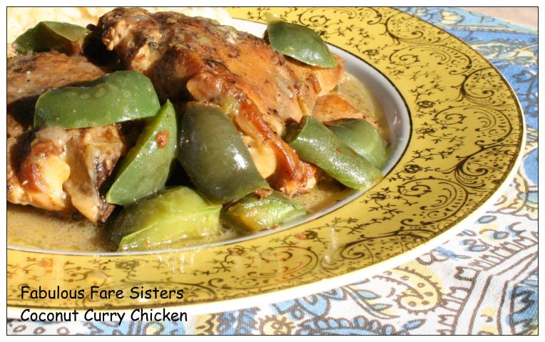 Coconut Curry Chicken 8