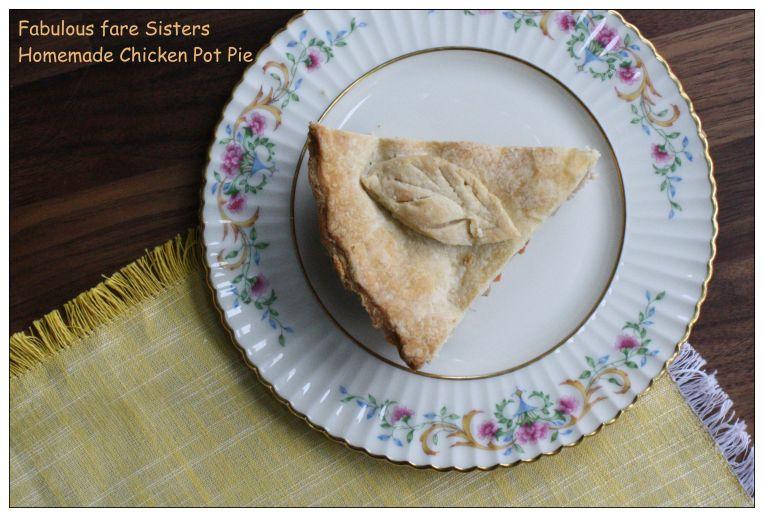 Homemade Chicken Pot Pie 1
