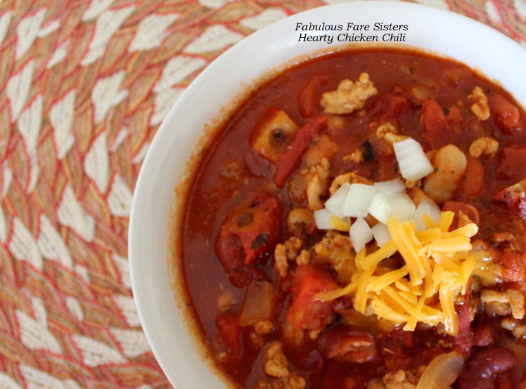 Hearty Chicken Chili