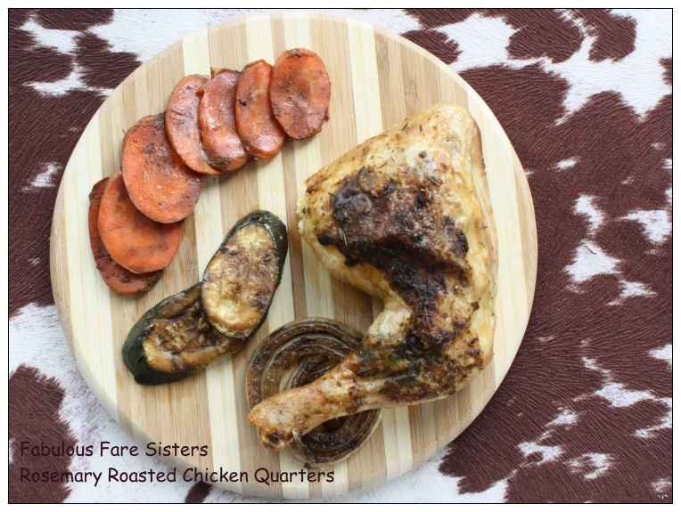 Rosemary Roasted Chicken Quarters 1