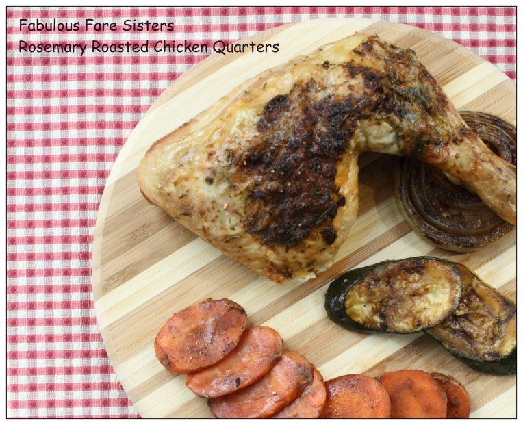 Rosemary Roasted Chicken Quarters 5