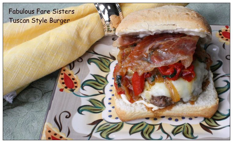 Tuscan Style Burger 1