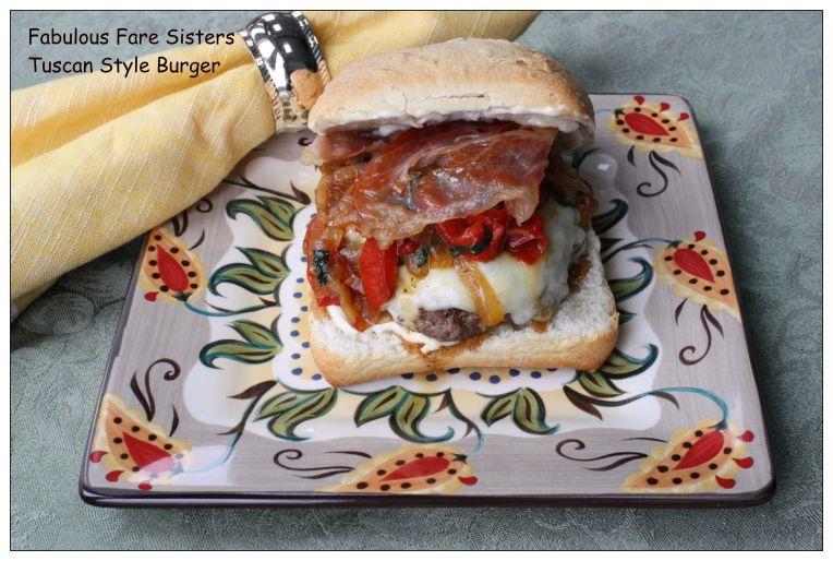 Tuscan Style Burger