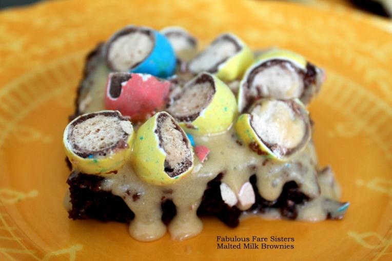 Malted Milk Brownies