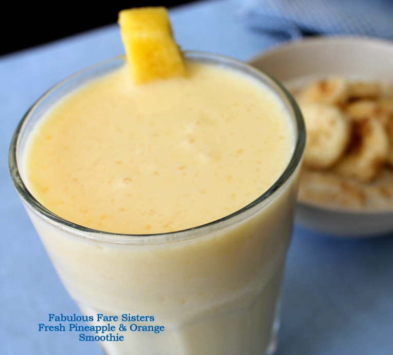Fresh Pineapple & Orange Smoothie