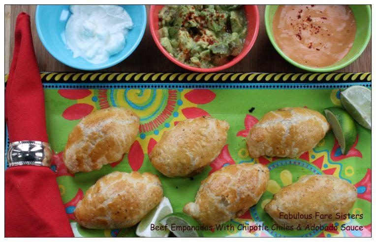 Beef Empanadas With Chipotle Chiles & Adobado Sauce 3