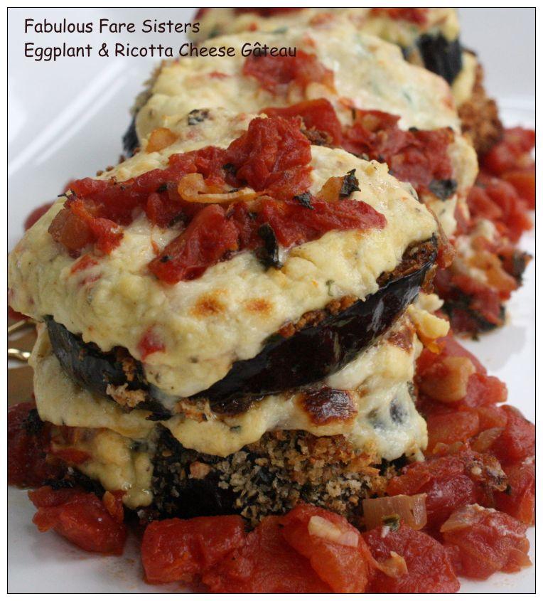 Eggplant & Riccota Cheese Gâteau 04