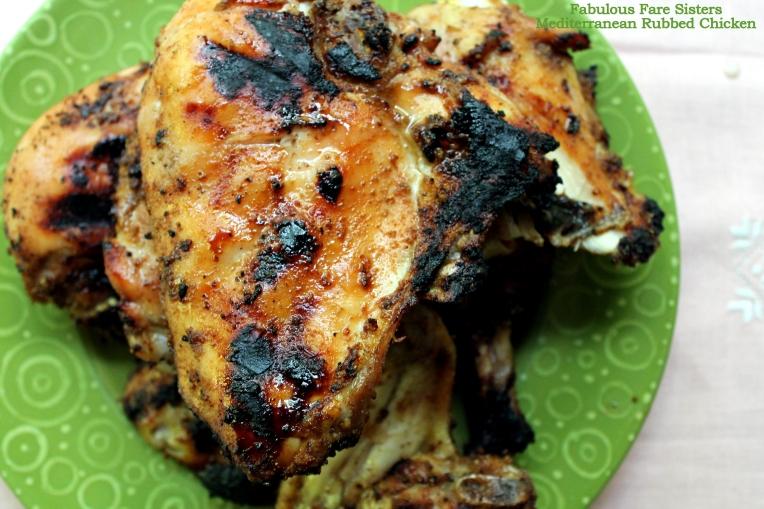 Mediterranean Rubbed Chicken