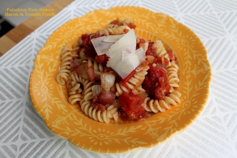 Bacon & Tomato Fusilli