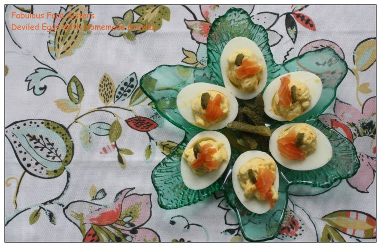 Deviled Eggs With Homemade Gravlax 2