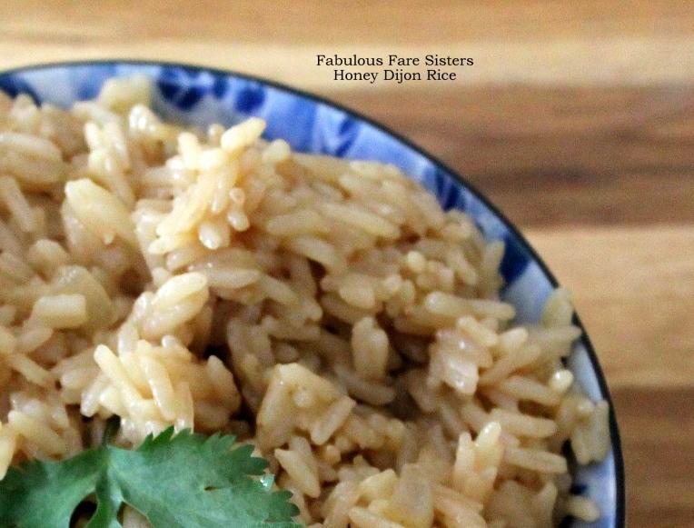 Honey Dijon Rice