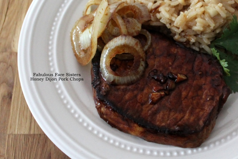 Honey Dijon Pork Chops