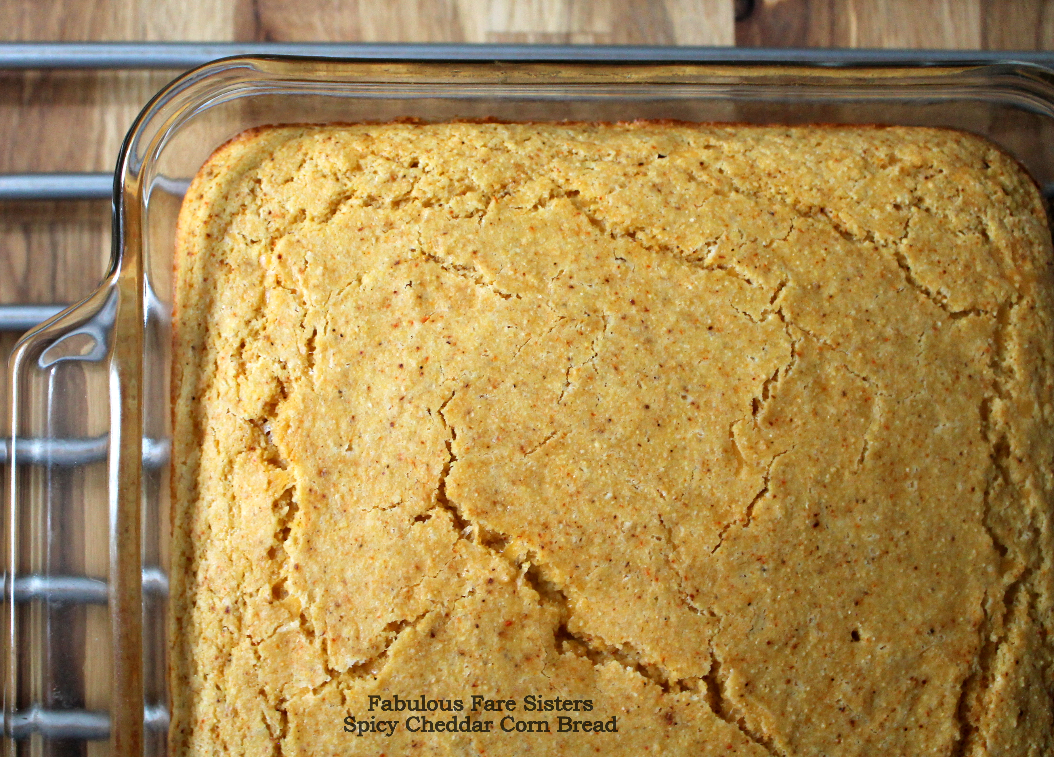 Spicy Cheddar Corn Bread – Fabulous Fare Sisters