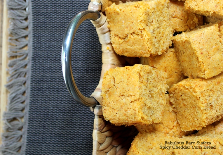 Spicy Cheddar Corn Bread