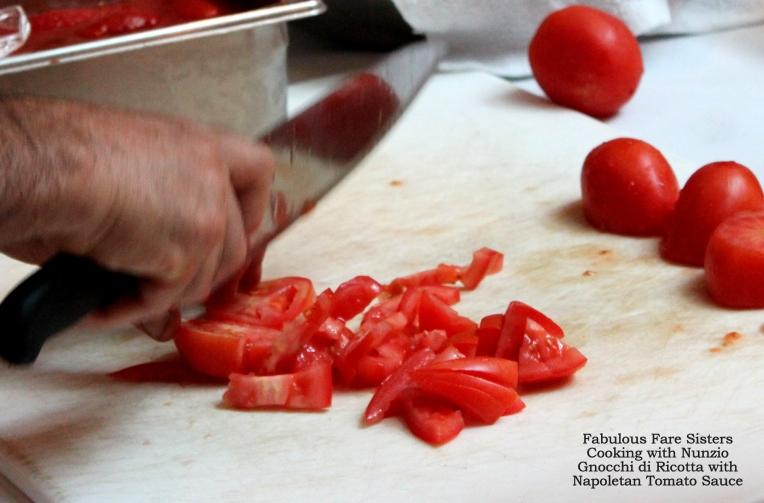 Gnocchi di Ricotta with Napoletan Tomato Sauce
