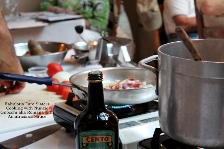 Gnocchi alla Romana with Amatriciana Sauce