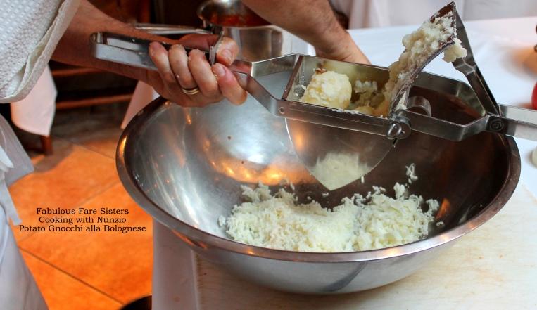 Potato Gnocchi alla Bolognese