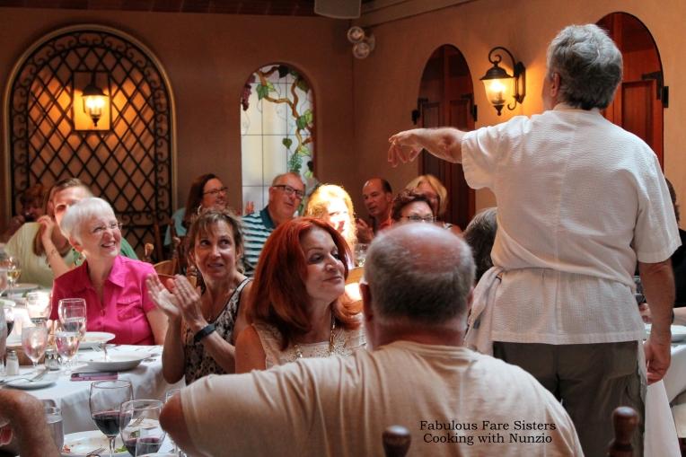 Chef Nunzio & guests