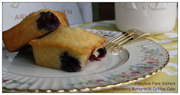 Blueberry Buttermilk Coffee Cake 1