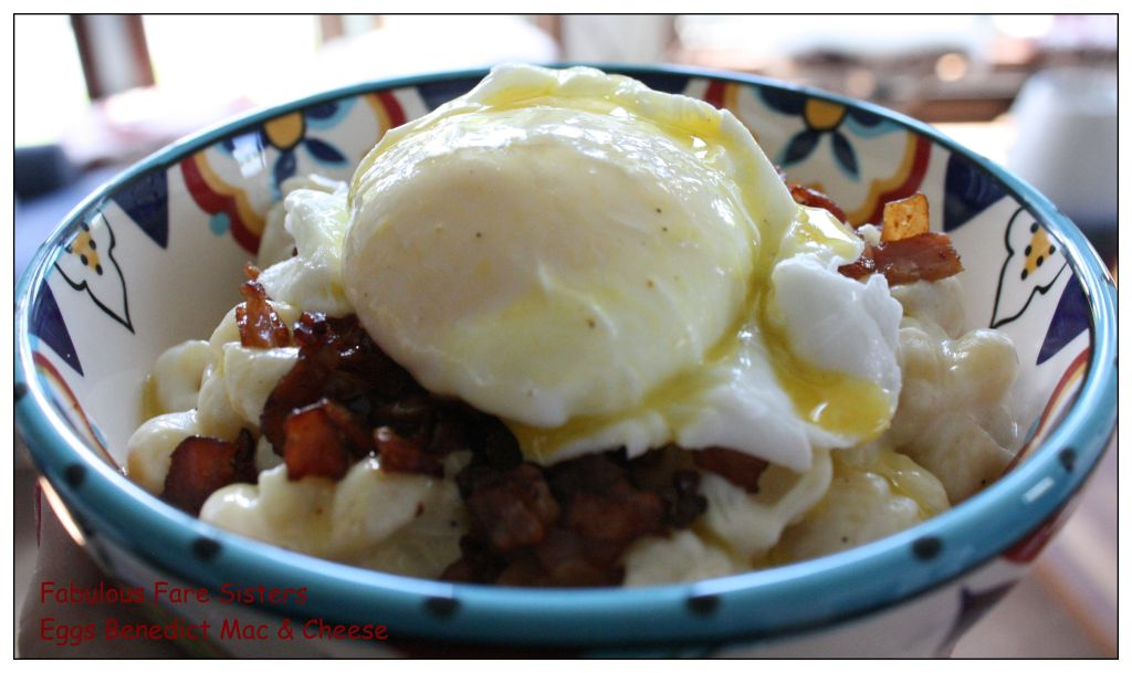 Eggs Benedict Mac & Cheese