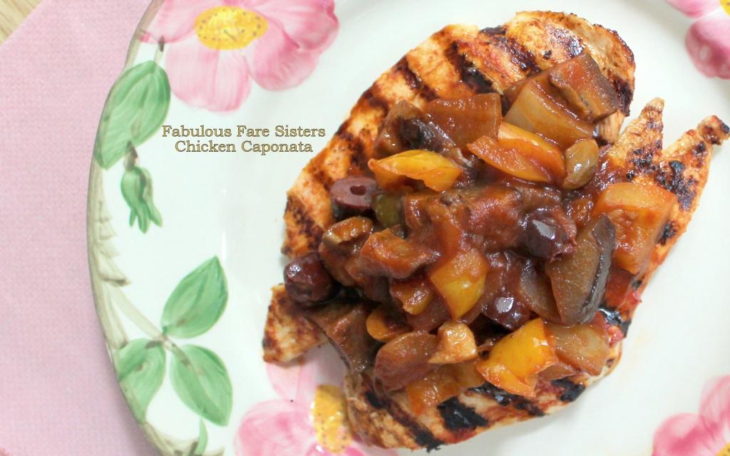 Chicken Caponata