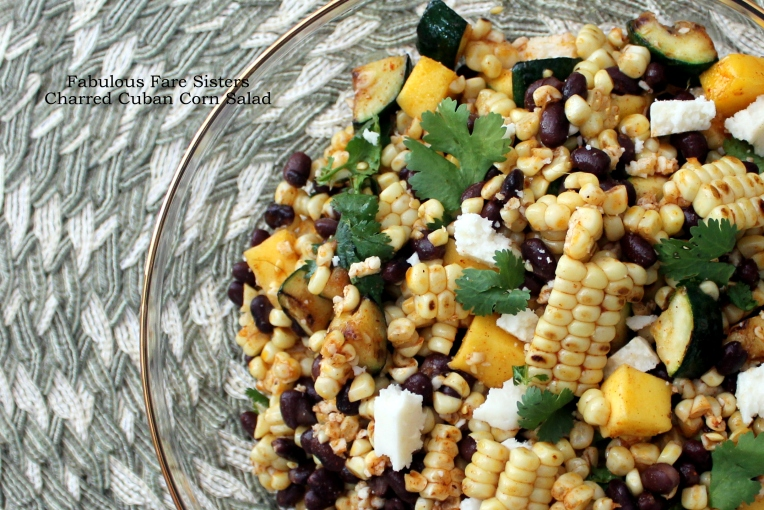 Charred Cuban Corn Salad