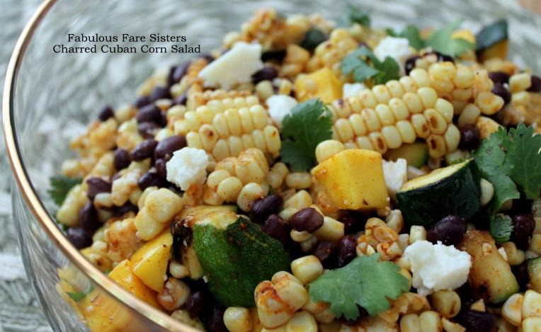Charred Cuban Corn Salad
