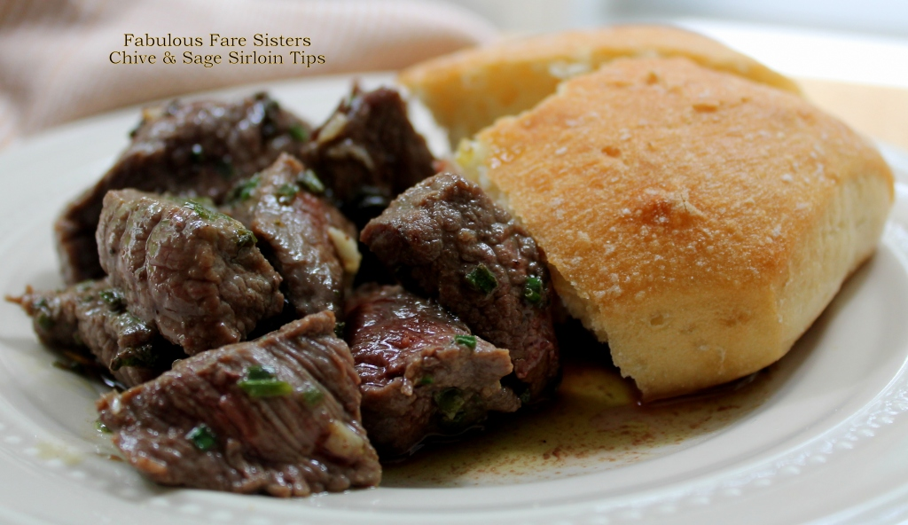 Chive & Sage Sirloin Tips