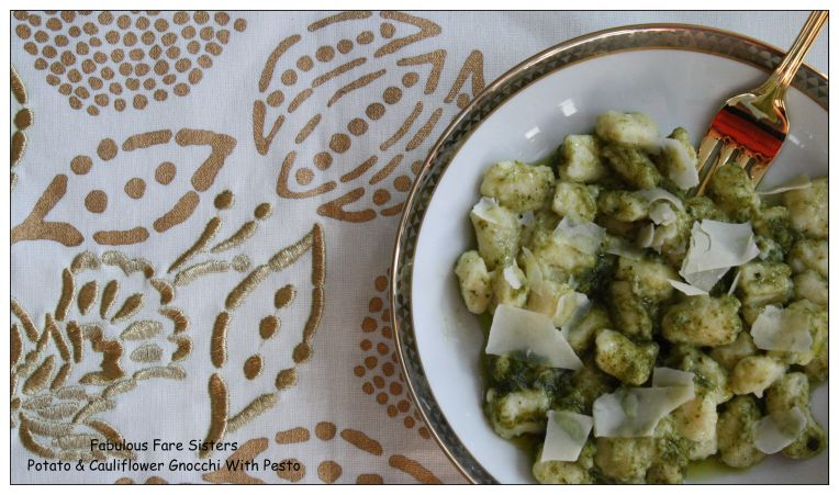 Potato & Cauliflower Gnocchi With Pesto 1