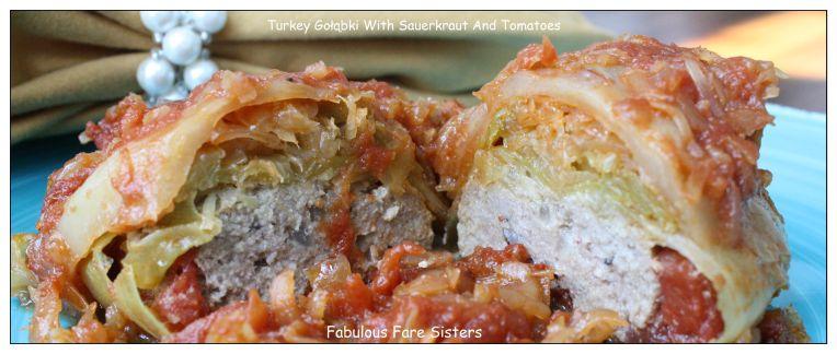 Turkey Gołąbki With Sauerkraut And Tomatoes 4