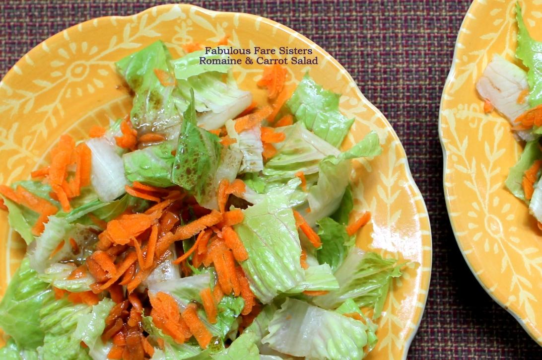 Romaine & Carrot Salad