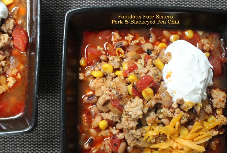 Pork & Blackeyed Pea Chili