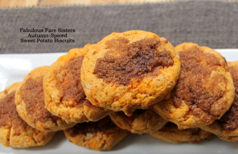 Autumn-Spiced Sweet Potato Biscuits/Fabulous Fare Sisters