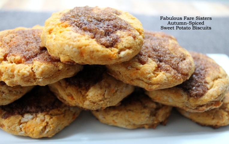 Autumn-Spiced Sweet Potato Biscuits