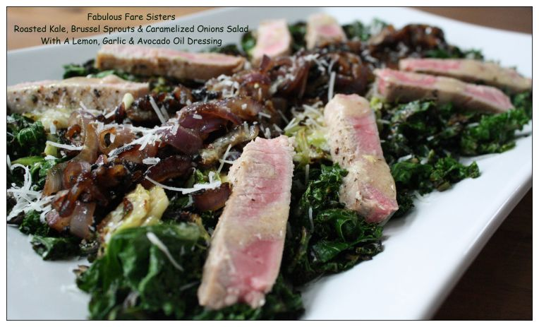 roasted-kale-brussel-sprouts-caramelized-onions