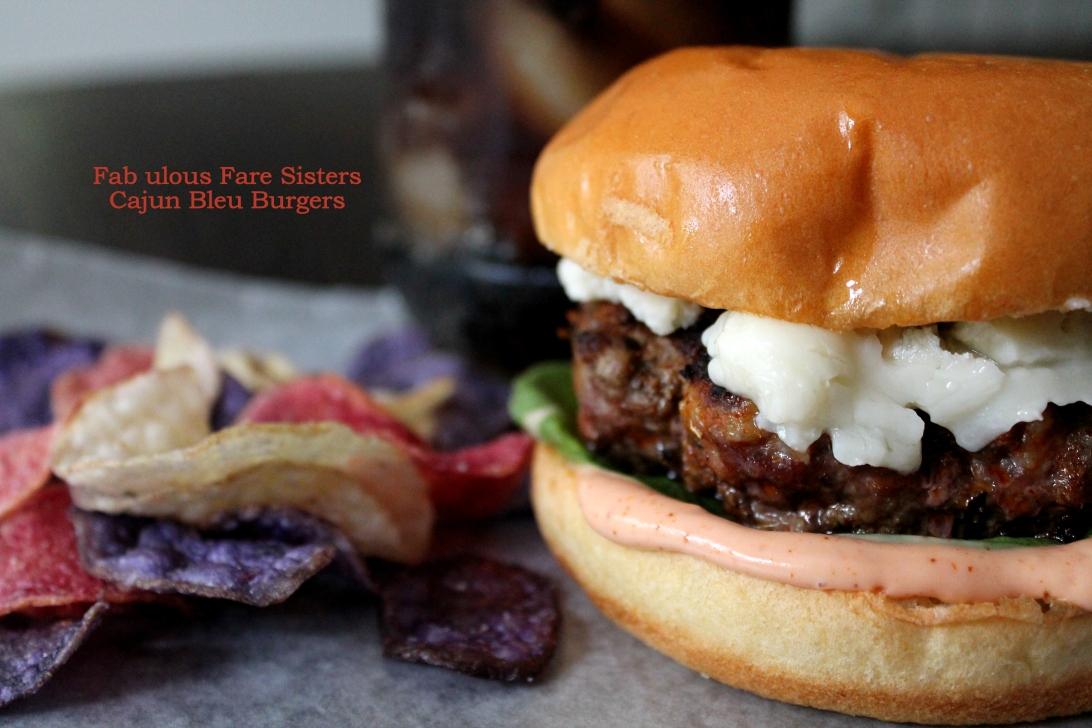Cajun Bleu Burgers