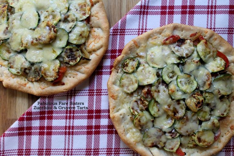 Zucchini & Gruyère Tarts