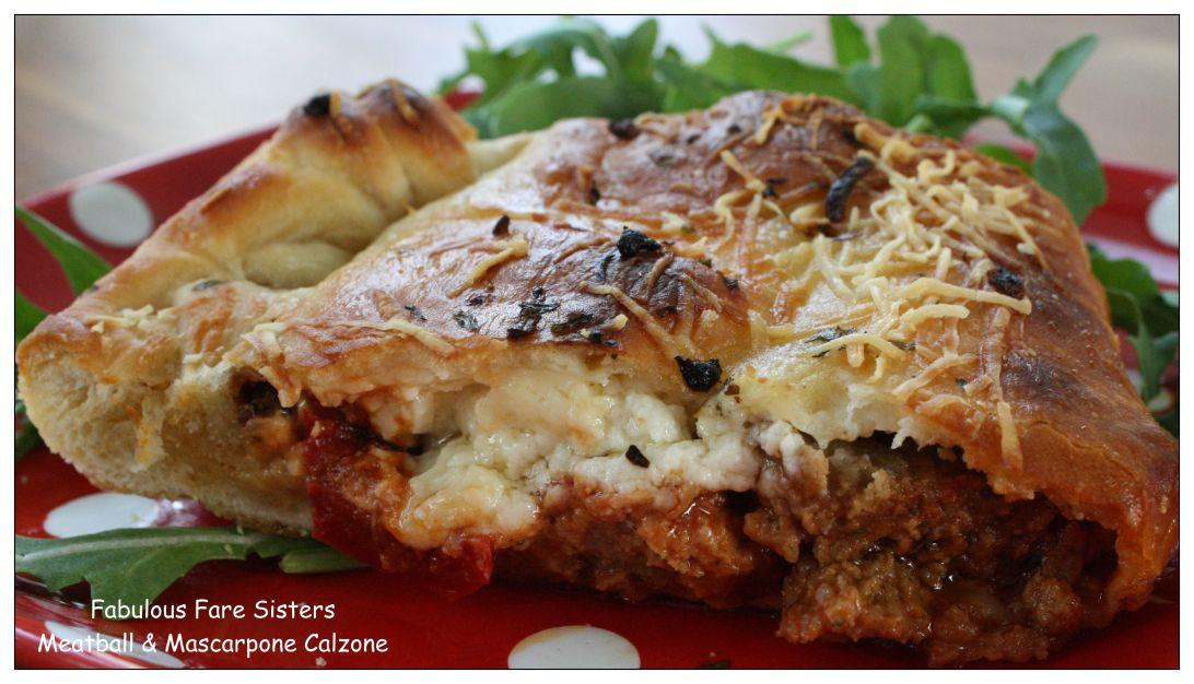 meatball-mascarpone-calzone