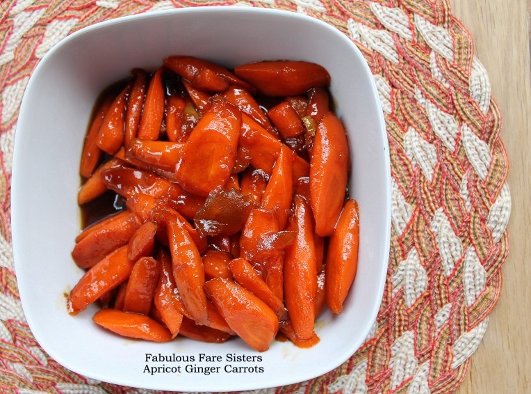 Apricot Ginger Carrots