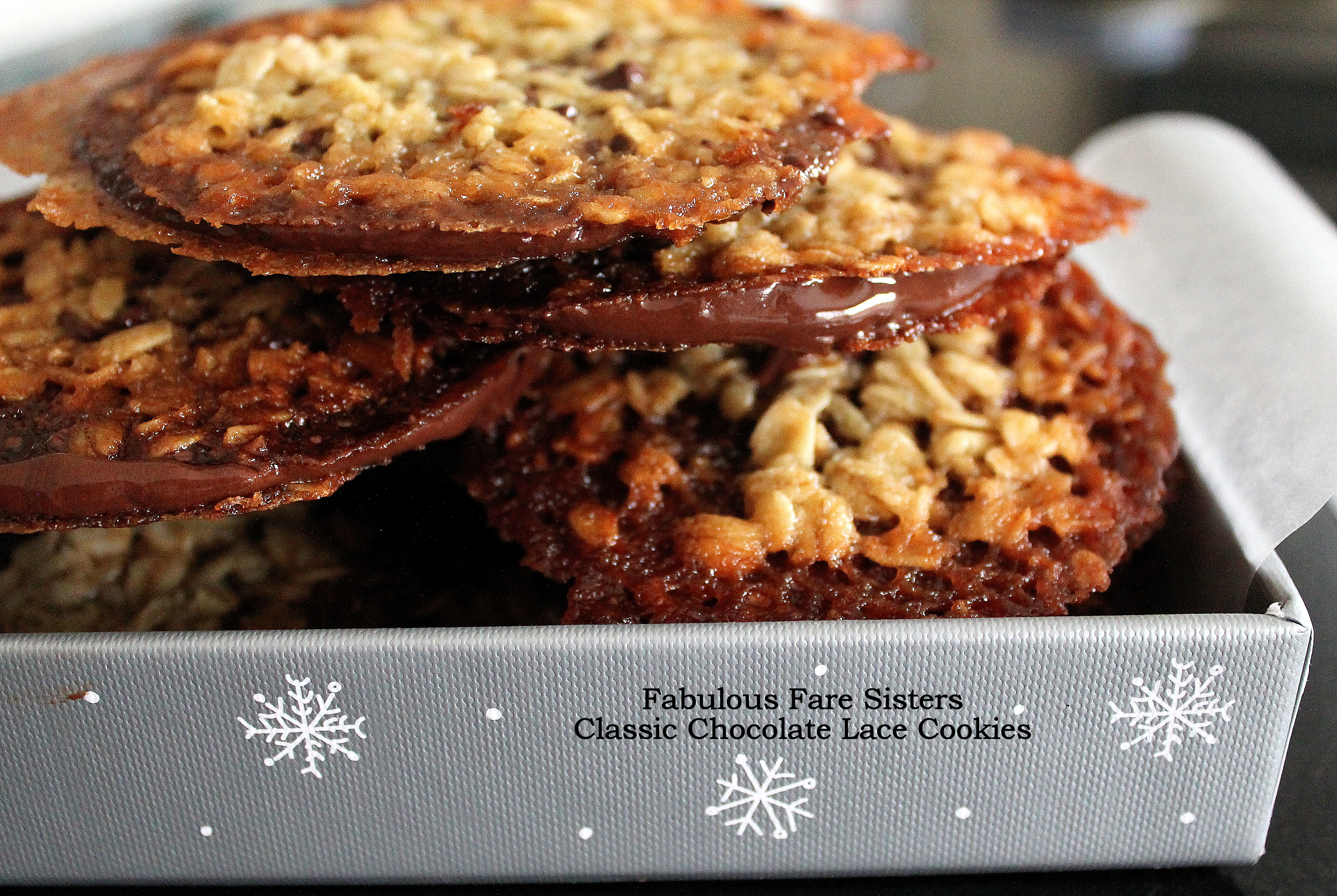 The Cookie Jar: Classic Chocolate Lace Cookies – Fabulous ...