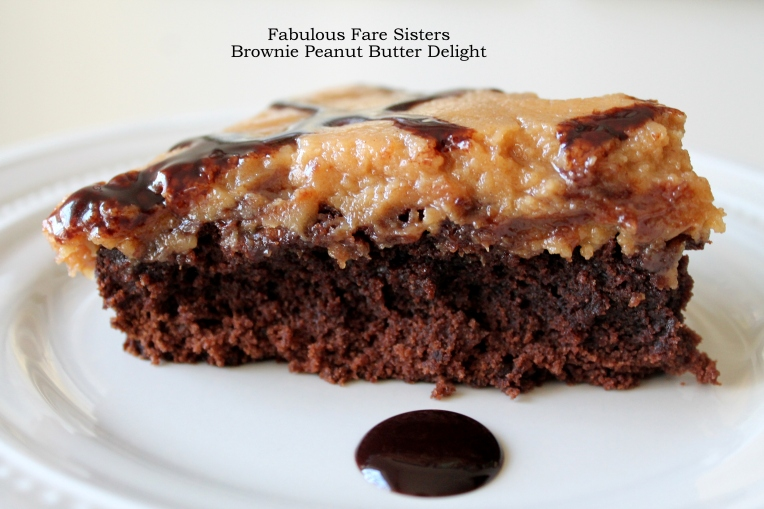 Brownie Peanut Butter Delight