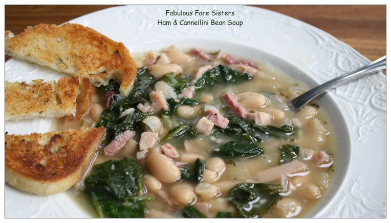 ham-cannellini-bean-soup