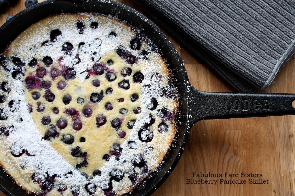 Blueberry Pancake Skillet