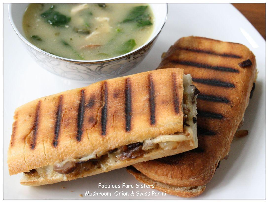 mushroom-onion-swiss-panini