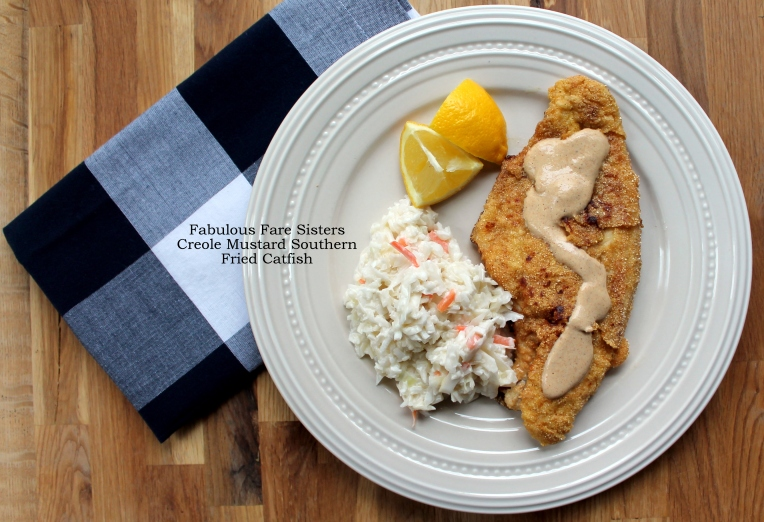 Creole Mustard Southern Fried Catfish