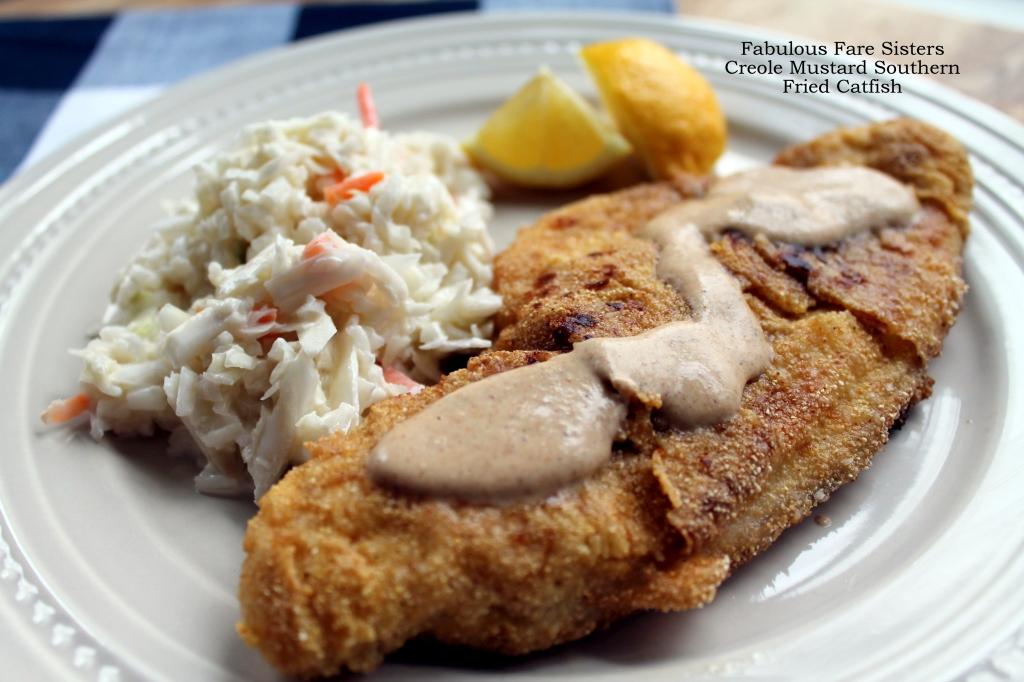 Creole Mustard Southern Fried Catfish