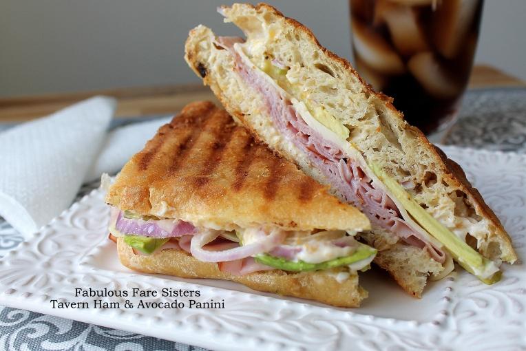 Tavern Ham & Avocado Panini