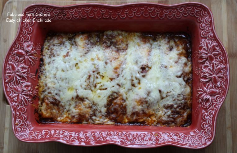 Easy Chicken Enchilada 1