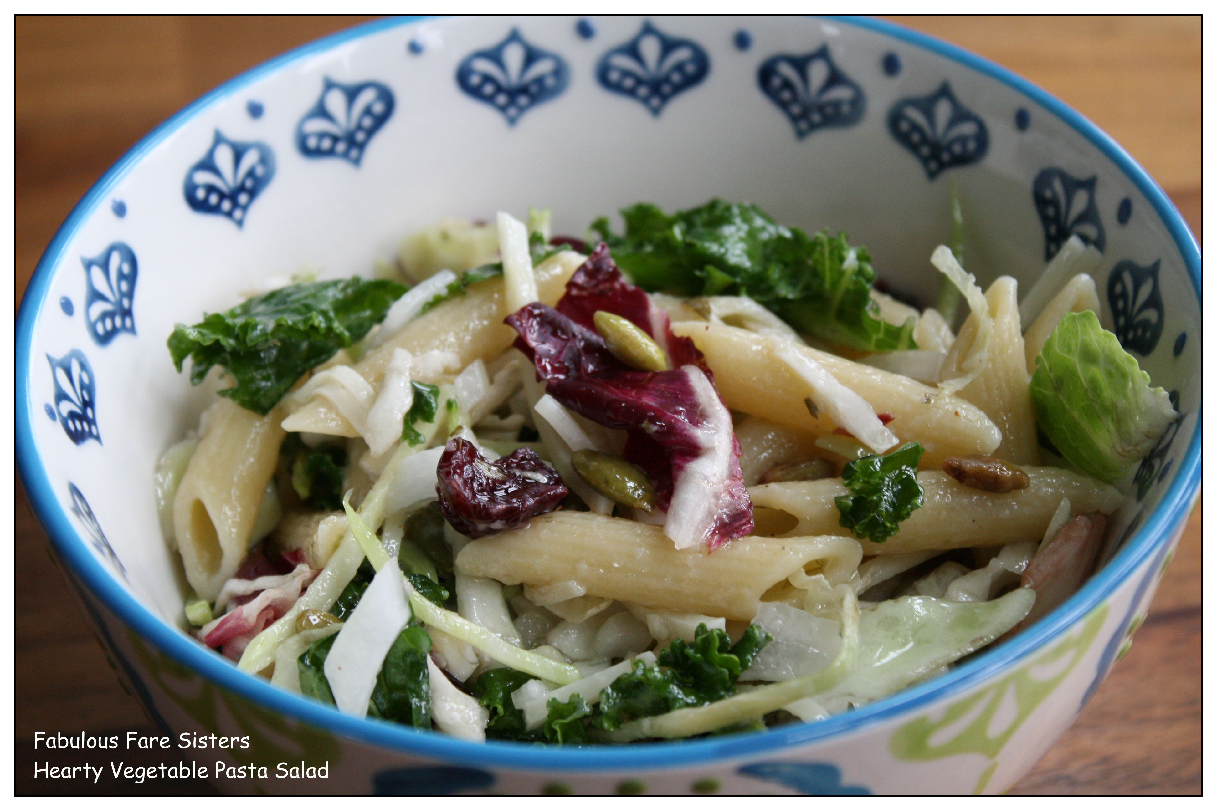 Hearty Vegetable Pasta Salad