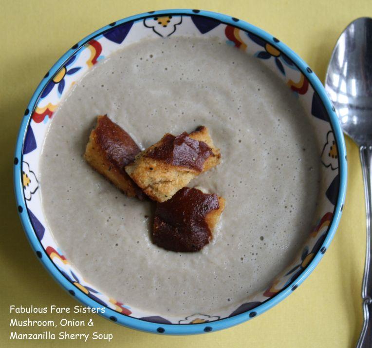 Mushroom, Onion & Manzanilla Sherry Soup 1